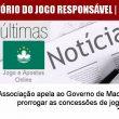Associação apela ao Governo de Macau para prorrogar as concessões…