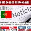 """Francisco Assis alerta Governo para riscos das """"raspadinhas"""": """"É imoral…"""
